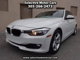 2014 BMW 3 Series for sale at Selective Motor Cars in Miami FL