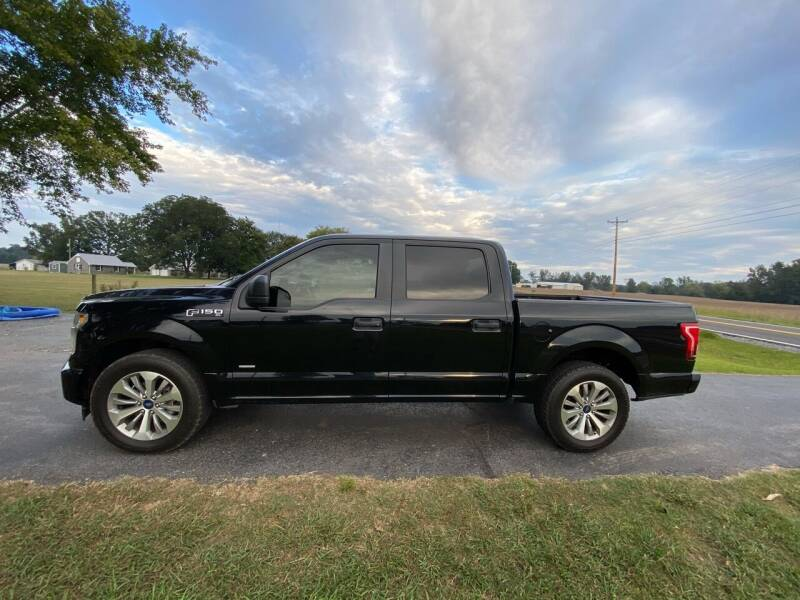 2017 Ford F-150 for sale at Tennessee Valley Wholesale Autos LLC in Huntsville AL