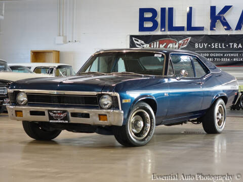 1971 Chevrolet Nova for sale at Bill Kay Corvette's and Classic's in Downers Grove IL