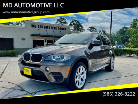 2012 BMW X5 for sale at MD AUTOMOTIVE LLC in Slidell LA