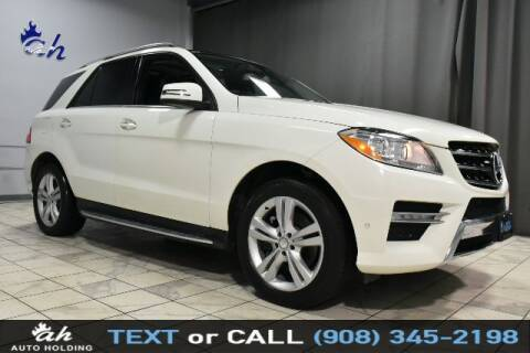 2013 Mercedes-Benz M-Class for sale at AUTO HOLDING in Hillside NJ