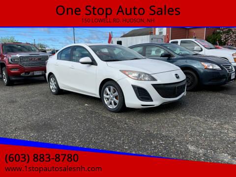 2011 Mazda MAZDA3 for sale at One Stop Auto Sales in Hudson NH