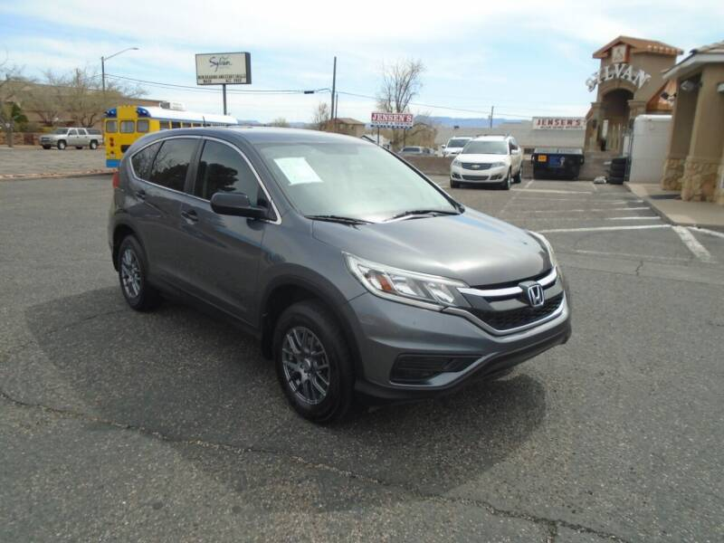 2015 Honda CR-V for sale at Team D Auto Sales in St George UT