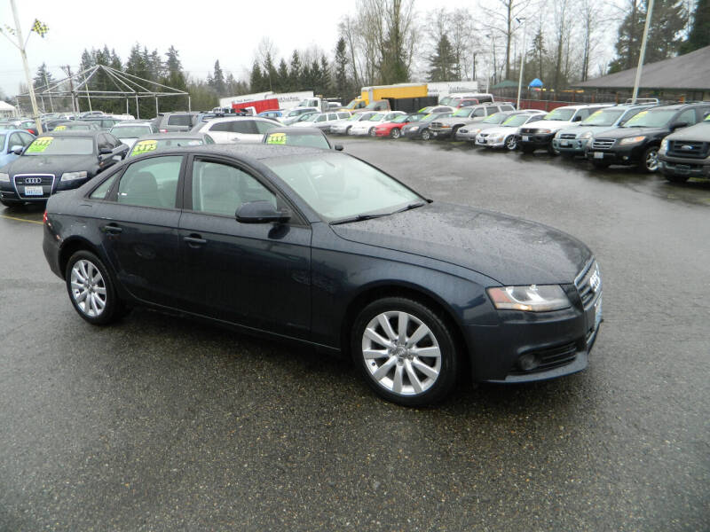 2012 Audi A4 for sale at J & R Motorsports in Lynnwood WA