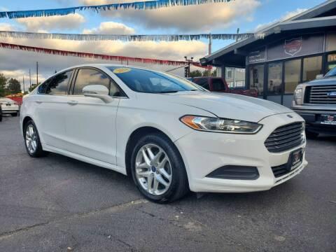 2014 Ford Fusion for sale at Michigan city Auto Inc in Michigan City IN