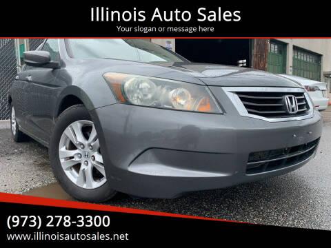 2008 Honda Accord for sale at Illinois Auto Sales in Paterson NJ