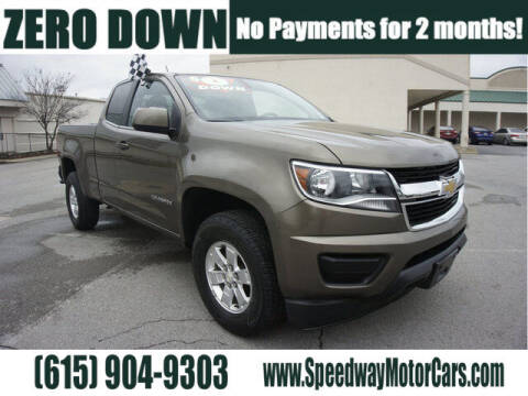 2016 Chevrolet Colorado for sale at Speedway Motors in Murfreesboro TN