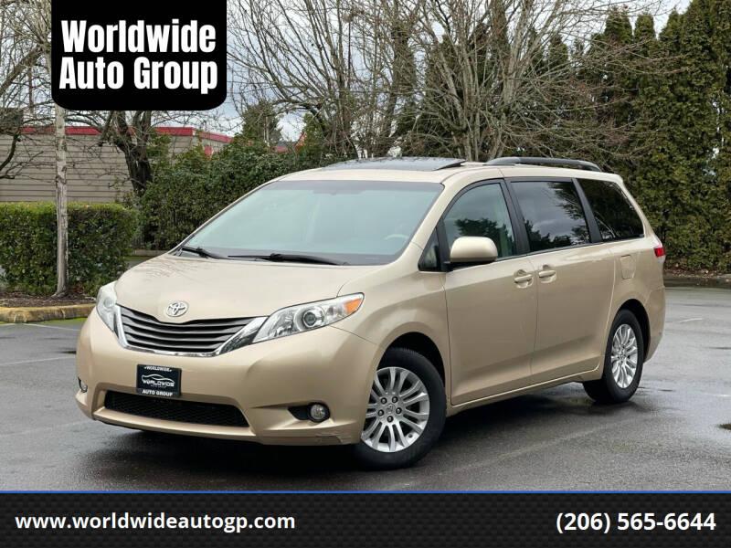 2011 Toyota Sienna for sale at Worldwide Auto Group in Auburn WA