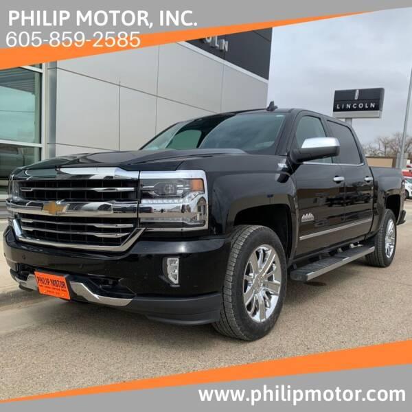 2018 Chevrolet Silverado 1500 for sale at Philip Motor Inc in Philip SD