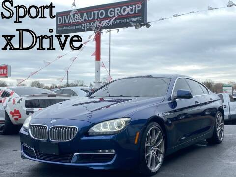 2013 BMW 6 Series for sale at Divan Auto Group in Feasterville Trevose PA