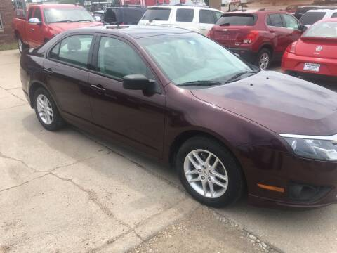 2012 Ford Fusion for sale at Bramble's Auto Sales in Hastings NE