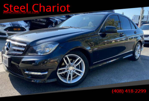 2012 Mercedes-Benz C-Class for sale at Steel Chariot in San Jose CA