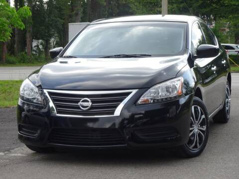 2015 Nissan Sentra for sale at Deal Maker of Gainesville in Gainesville FL