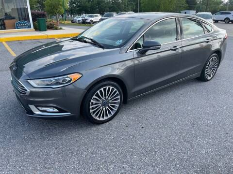 2017 Ford Fusion for sale at Southeast Auto Inc in Baton Rouge LA