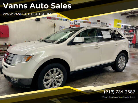2008 Ford Edge for sale at Vanns Auto Sales in Goldsboro NC