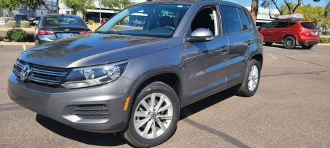2017 Volkswagen Tiguan for sale at Arizona Auto Resource in Tempe AZ