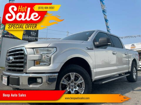 2016 Ford F-150 for sale at Beep Auto Sales in National City CA