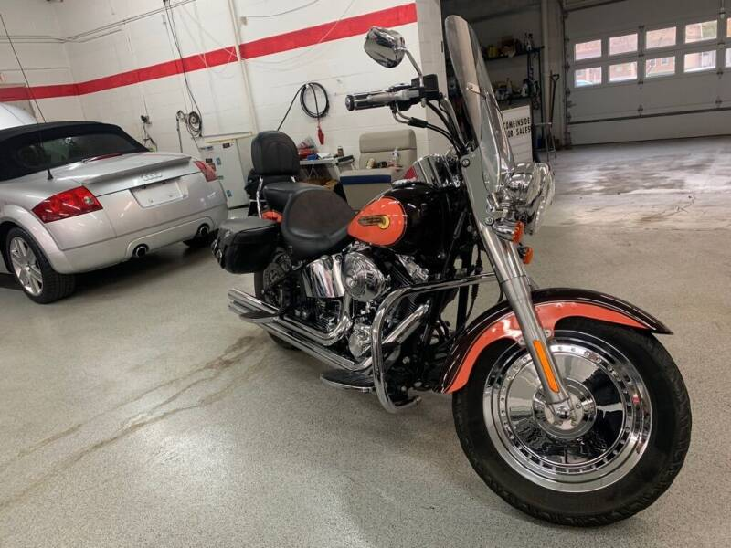 2004 HARLEY DAVIDSON FLSTFI for sale at Akron Motorcars Inc. in Akron OH