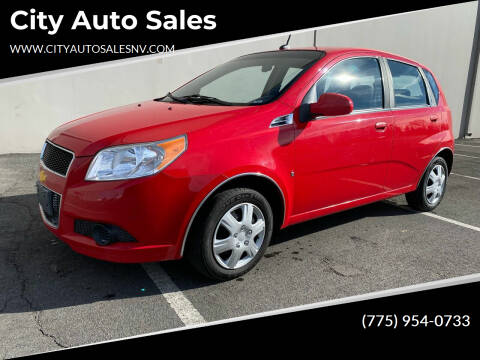 2009 Chevrolet Aveo for sale at City Auto Sales in Sparks NV
