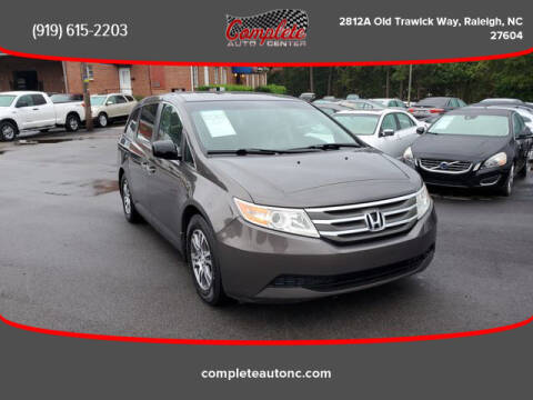 2012 Honda Odyssey for sale at Complete Auto Center , Inc in Raleigh NC