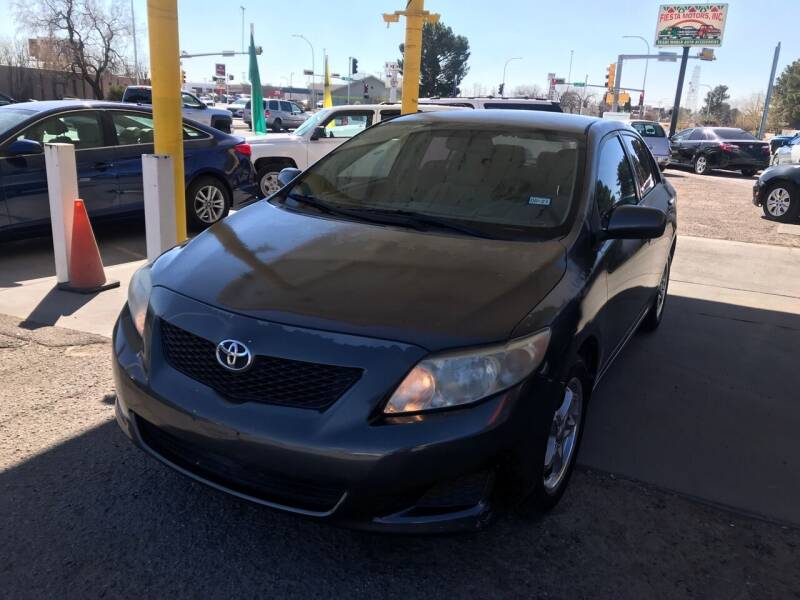 2009 Toyota Corolla for sale at Fiesta Motors Inc in Las Cruces NM