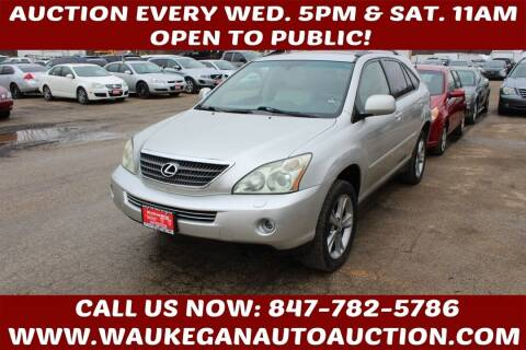 2006 Lexus RX 400h for sale at Waukegan Auto Auction in Waukegan IL