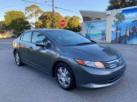 2012 Honda Civic for sale at Asap Motors Inc in Fort Walton Beach FL