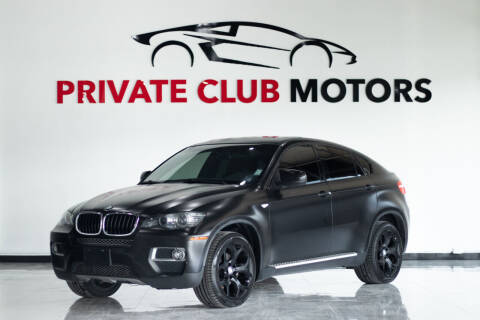 2014 BMW X6 for sale at Private Club Motors in Houston TX