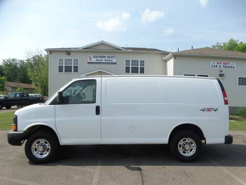 2015 Chevrolet Express Cargo for sale at SOUTHERN SELECT AUTO SALES in Medina OH