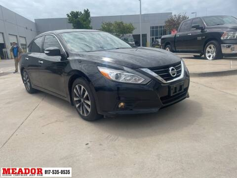 2016 Nissan Altima for sale at Meador Dodge Chrysler Jeep RAM in Fort Worth TX