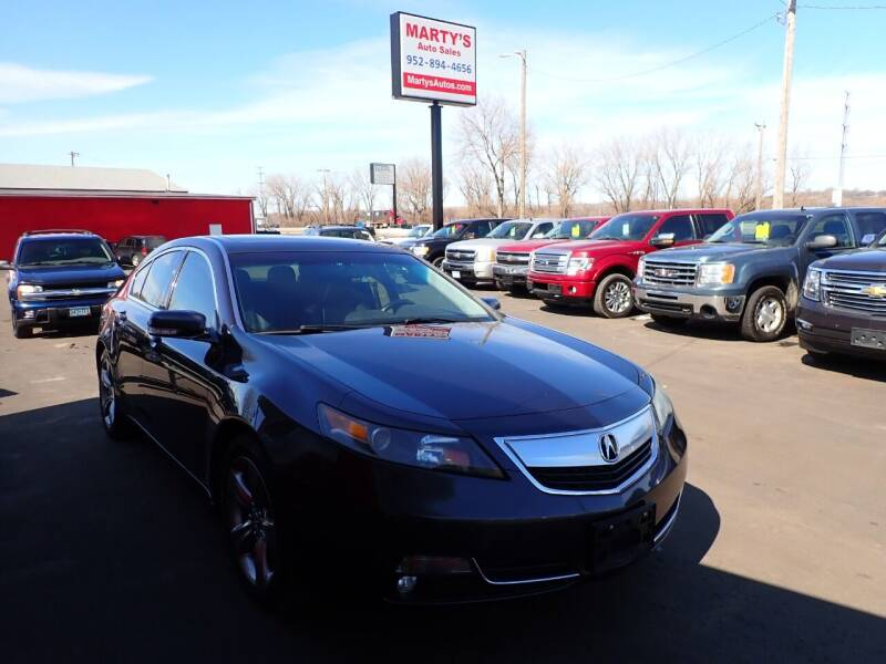 2012 Acura TL for sale at Marty's Auto Sales in Savage MN