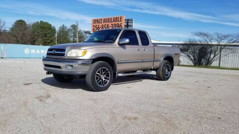 2001 Toyota Tundra for sale at Tennessee Valley Wholesale Autos LLC in Huntsville AL