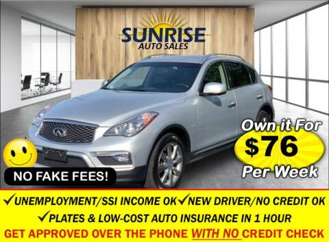 2017 Infiniti QX50 for sale at AUTOFYND in Elmont NY