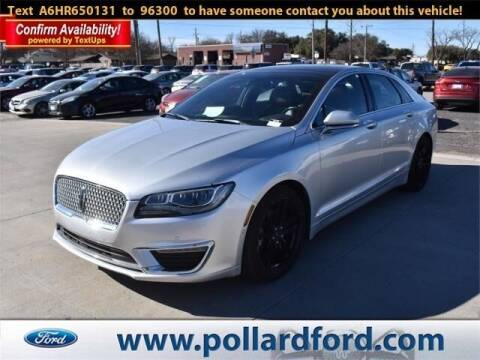 2017 Lincoln MKZ Hybrid for sale at South Plains Autoplex by RANDY BUCHANAN in Lubbock TX