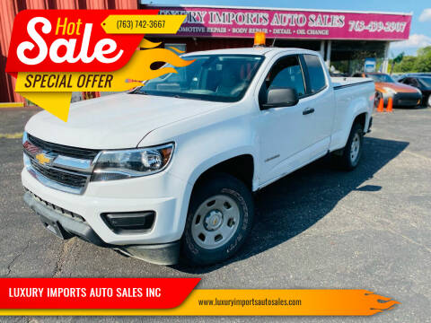 2016 Chevrolet Colorado for sale at LUXURY IMPORTS AUTO SALES INC in North Branch MN