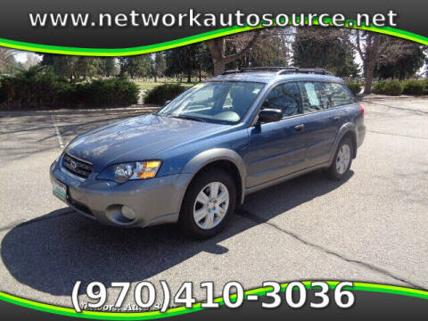 2005 Subaru Outback for sale at Network Auto Source in Loveland CO