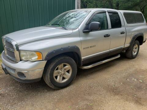2002 Dodge Ram Pickup 1500 for sale at Northwoods Auto & Truck Sales in Machesney Park IL