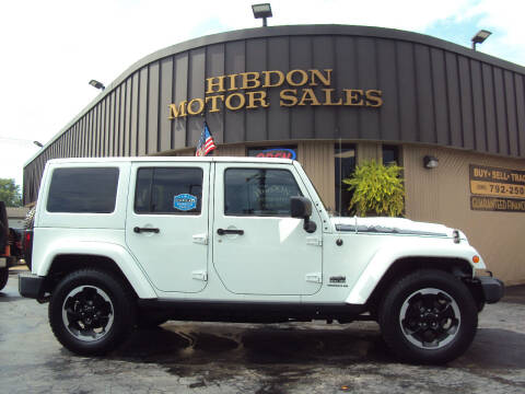 2014 Jeep Wrangler Unlimited for sale at Hibdon Motor Sales in Clinton Township MI