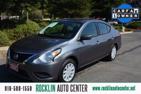 2019 Nissan Versa for sale at Rocklin Auto Center in Rocklin CA