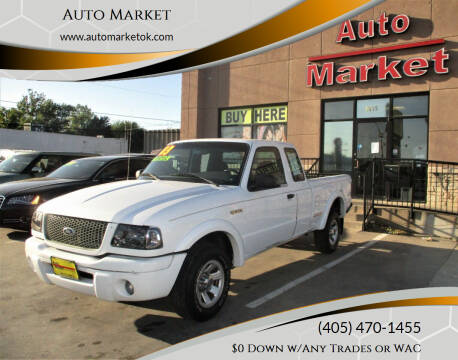 2003 Ford Ranger for sale at Auto Market in Oklahoma City OK