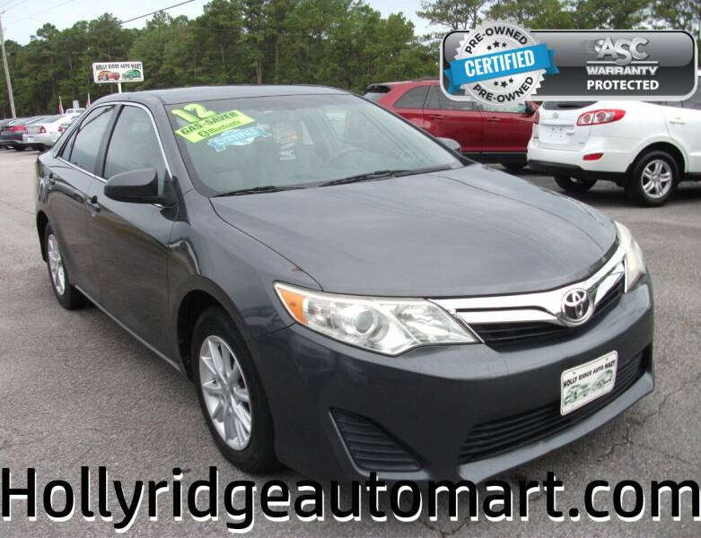 2012 Toyota Camry for sale at Holly Ridge Auto Mart in Holly Ridge NC