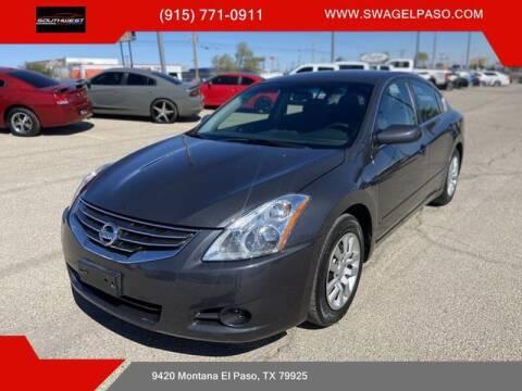 2012 Nissan Altima for sale at SOUTHWEST AUTO GROUP-EL PASO in El Paso TX