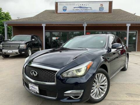 2016 Infiniti Q70L for sale at Global Automotive Imports in Denver CO