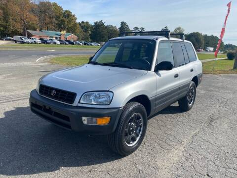 1998 Toyota RAV4 for sale at CVC AUTO SALES in Durham NC