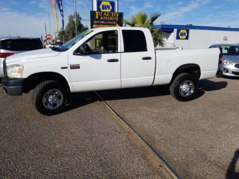 2009 Dodge Ram Pickup 2500 for sale at 1ST AUTO & MARINE in Apache Junction AZ