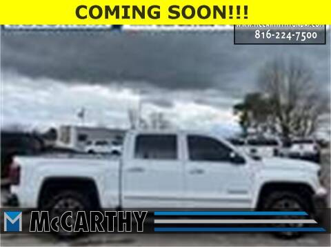 2018 GMC Sierra 1500 for sale at Mr. KC Cars - McCarthy Hyundai in Blue Springs MO