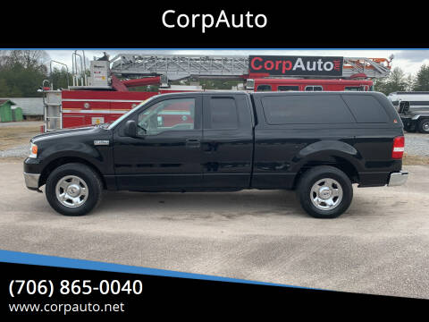 2005 Ford F-150 for sale at CorpAuto in Cleveland GA