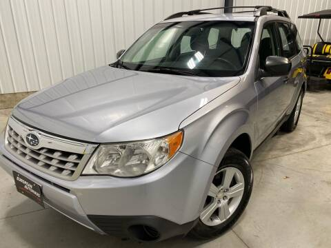 2012 Subaru Forester for sale at EUROPEAN AUTOHAUS in Holland MI