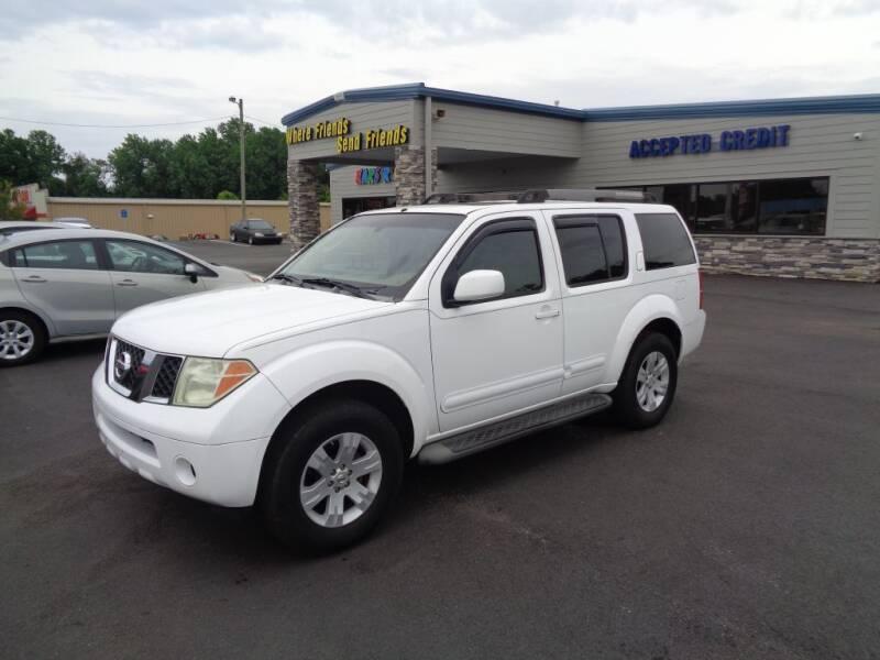 2006 Nissan Pathfinder for sale at KARS R US of Spartanburg LLC in Spartanburg SC