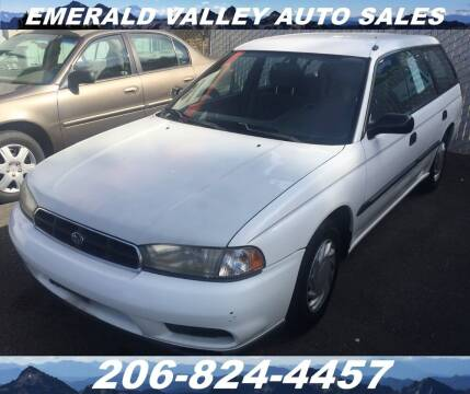 1998 Subaru Legacy for sale at Emerald Valley Auto Sales in Des Moines WA